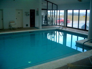 Indoor pool at Romar Place