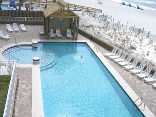 Romar Place's beachside outdoor pool